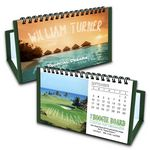 Custom Boogie Board Custom Flip Calendar with Green Organizer Base