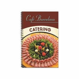 Promote.Restaurant Wire Bound Poly Cover Planning Book (Medium)