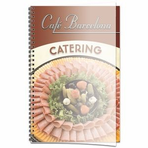 "Promote.Restaurant Wire Bound ""Vue"" Planning Book, XL"