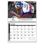 Custom Spotlight 1-Photo Wire-bound Wall Calendar