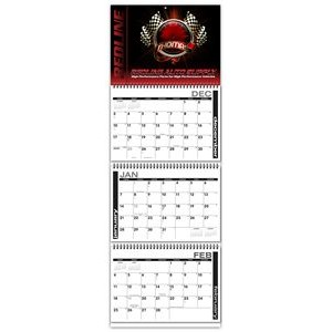 Red Carpet Quarterly Planning Wire-bound Wall Calendar
