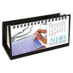 Custom Hang 12 Custom Flip Calendar with Black Organizer Base