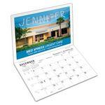 Custom Marquee 2-Photo Calendar/Card