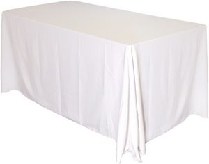 Custom Draped 6' Table Throw (Blank)