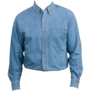 Long Sleeve Casual Denim Shirt