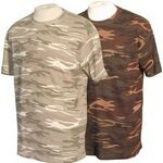 Custom Anvil 4.9oz., 100% Ringspun Cotton Camouflage T-Shirt Rx