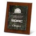 Custom Jade Marble Award on Plaque (11