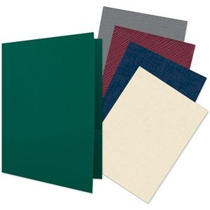 "Quick Ship Plain Presentation Folders with Two Pockets (9""x12"")"
