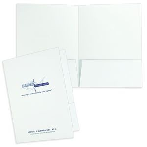 "Super Saver Economical Printed Folder (9""x12"")"