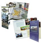 Custom Half-Fold Rack Brochure (8 1/2