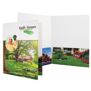 "Process Saver Printed Folder (9""x12"") (4 Color Process)"