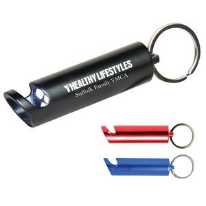 Aluminum Bottle Opener and Keychain