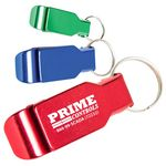 Custom Aluminum Bottle Opener and Keychain
