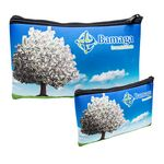 Custom Zippered Pouch -- Large