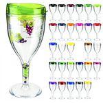 Custom Poolside Wine Glass