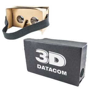 Cardboard VR Headset -- NATURAL COLOR SALE