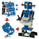 Custom 3D Puzzle Robot