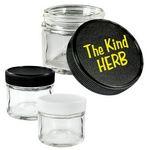 Custom Glass Jar -- 2 Ounce