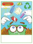 Custom Recycling - Imprintable Coloring & Activity Book
