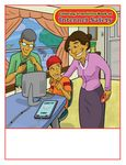 Custom Internet Safety - Imprintable Coloring & Activity Book