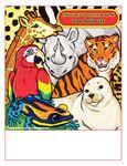 Custom Zoo Animals - Imprintable Coloring & Activity Book