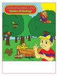 Custom Nature & Ecology - Imprintable Coloring & Activity Book