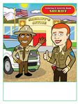 Custom Sheriff - Imprintable Coloring & Activity Book