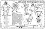 Custom Space Exploration - Imprintable Colorable Placemat