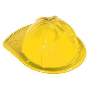 Yellow Plastic Fire Hats without Shields (CLEARANCE)
