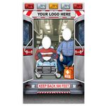 Custom Ambulance Photo Prop