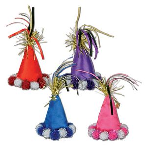 Custom Cone Hat Hair Clips
