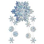 Custom 3-D Snowflake Mobile