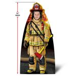 Custom Custom Life Size Fire Fighter Stand-Outs