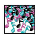 Custom Fanci Fetti Musical Notes