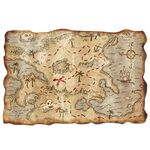 Custom Plastic Treasure Map