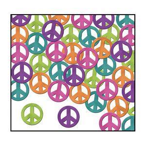 Custom Fanci Fetti Peace Signs