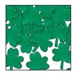 Custom Fanci Fetti Green Shamrocks
