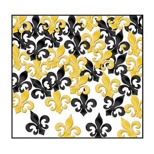 Custom Fleur De Lis Fanci Fetti Confetti