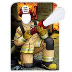 Custom Lineman Firefighter Photo Prop