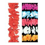 Custom Silk 'N Petals Rainbow Leis