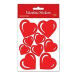 Custom Valentine Heart Stickers