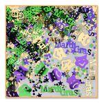 Custom Mardi Gras Confetti