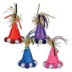 Custom Cone Hat Hair Clips