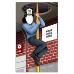 Custom Iconic Fireman's Pole Photo Prop