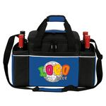 Custom 24 Cans Easy Access Cooler Plus Wine Bottle Holders