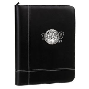 Elite Padfolio w/ Zippered Closure