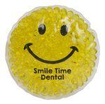 Custom Smiley Gel Beads Hot/Cold Pack