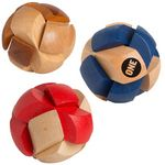 Custom Soccer Ball Wooden Puzzle