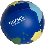 Custom Multi Color Earth Squeezies Stress Reliever
