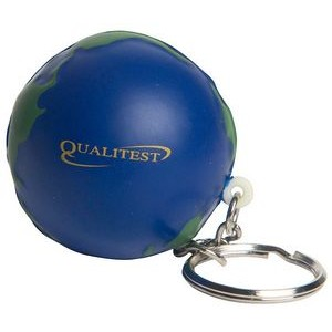 Earth Keyring Squeezies® Stress Reliever